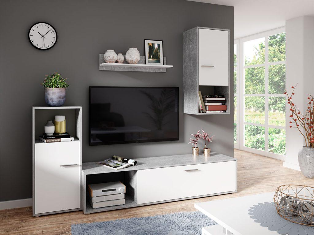 Moderní obývací stěna Asgard