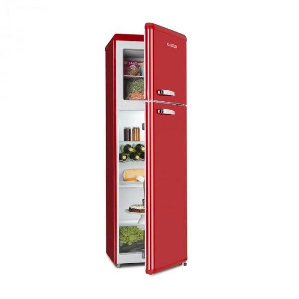 Klarstein Audrey Retro kombinace chladničky s mrazničkou