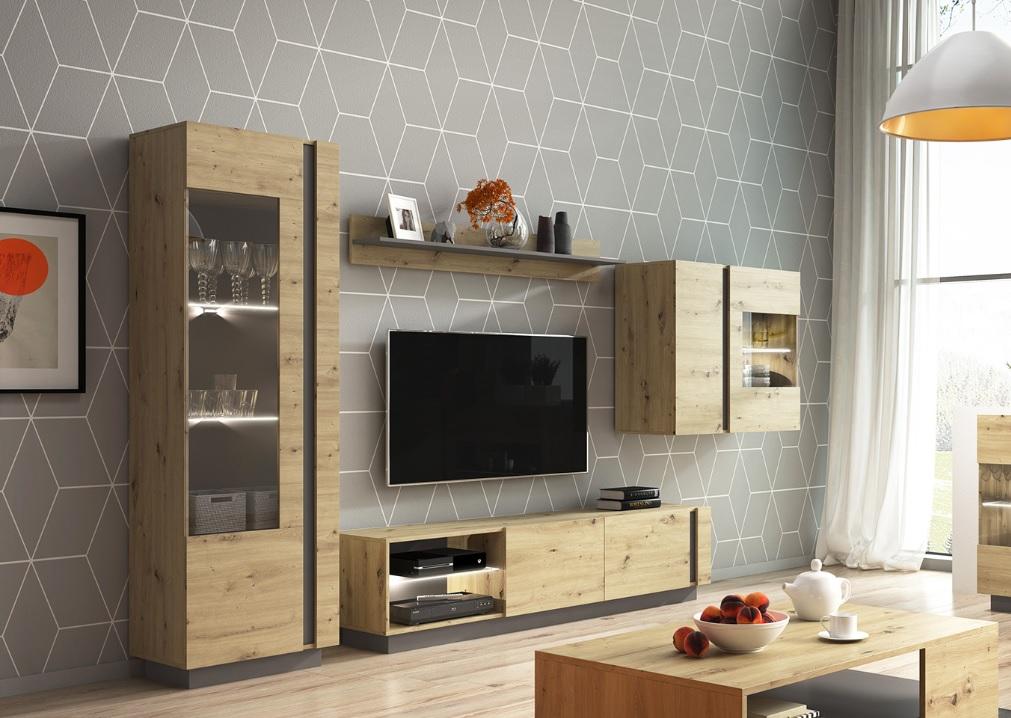 Moderní bytový nábytek Airoo sestava A - Inspirace a fotogalerie