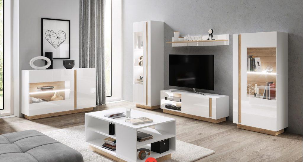 Moderní bytový nábytek Airoo sestava D - Inspirace a fotogalerie