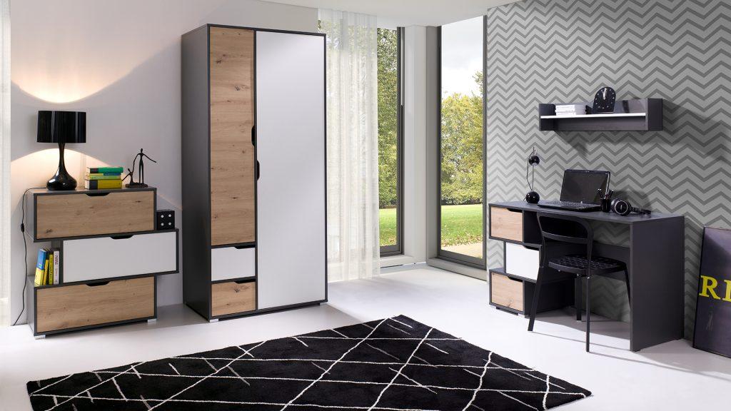 Moderní studentský nábytek Arabela sestava B - Inspirace a fotogalerie