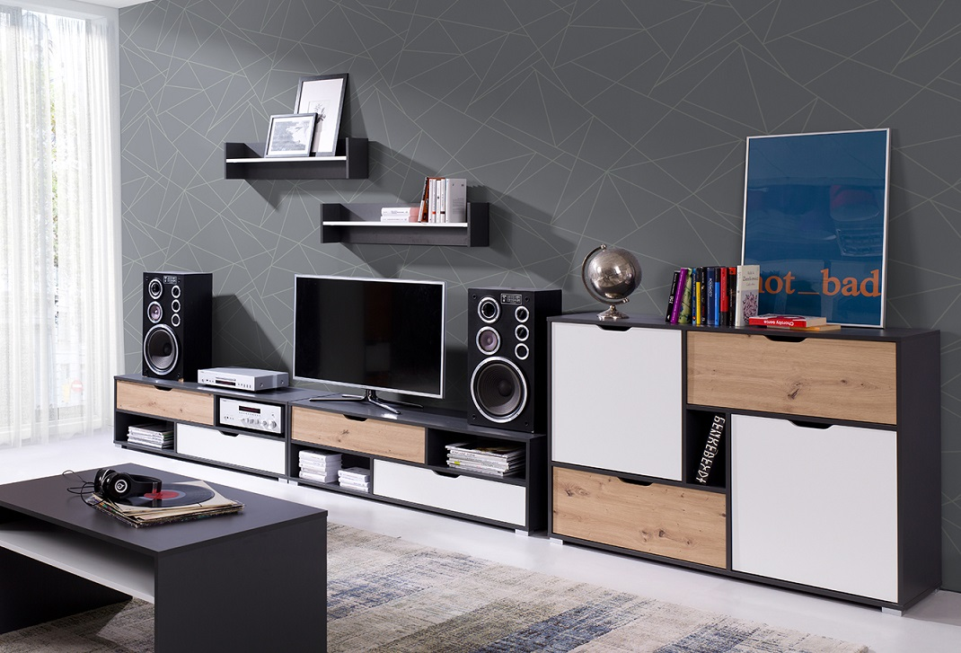 Moderní bytový nábytek Arabela sestava C - Inspirace a fotogalerie