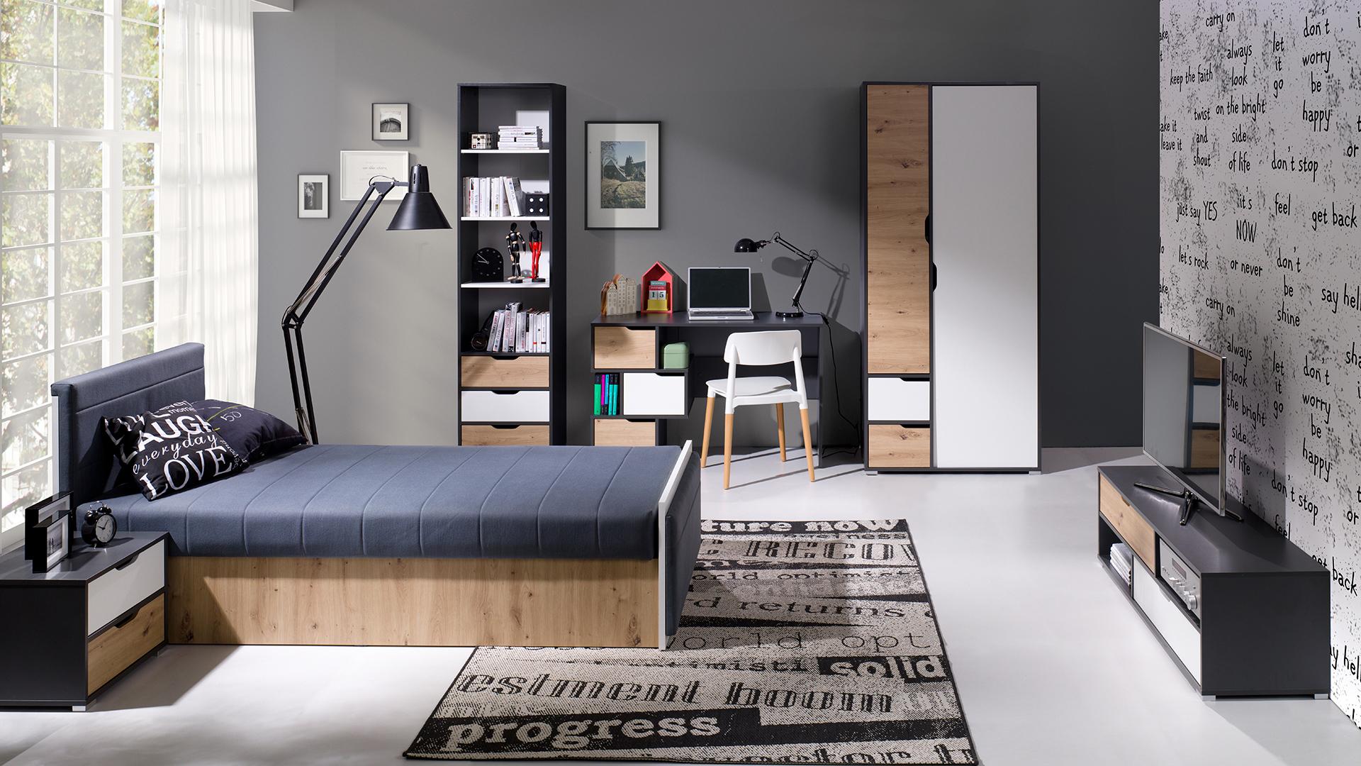 Moderní studentský nábytek Arabela sestava E - Inspirace a fotogalerie