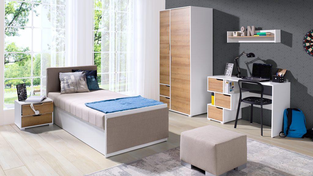 Moderní studentský nábytek Arabela sestava F - Inspirace a fotogalerie