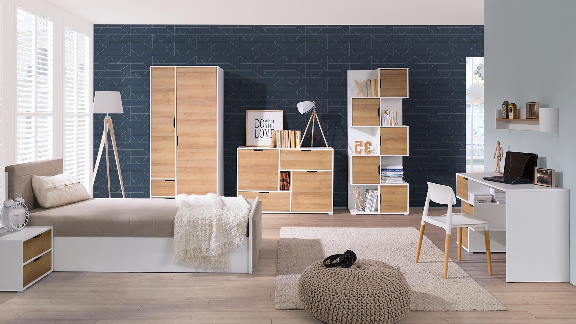 Moderní studentský nábytek Arabela sestava G - Inspirace a fotogalerie