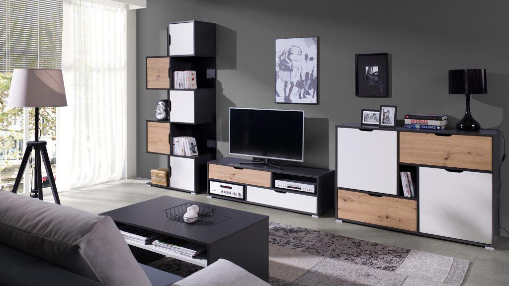 Moderní bytový nábytek Arabela sestava J - Inspirace a fotogalerie