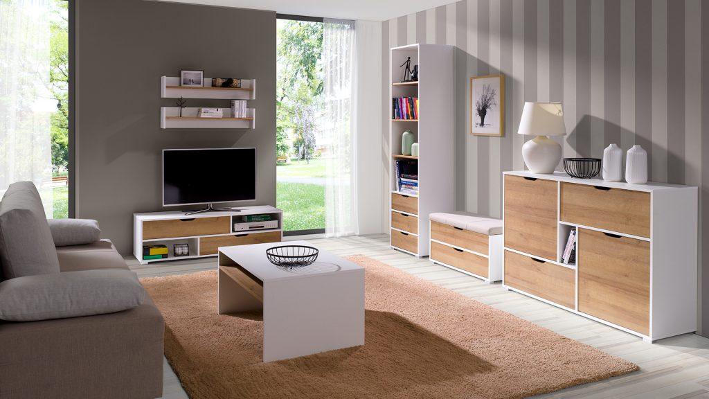 Moderní bytový nábytek Arabela sestava K - Inspirace a fotogalerie