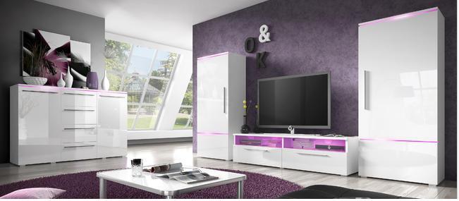 Luxusní obývací stěna Ariel