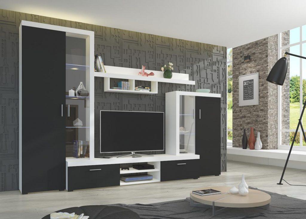 Moderní obývací stěna Asolo