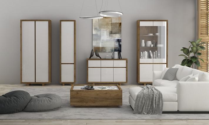 Luxusní bytový nábytek Astrid sestava A - Inspirace a fotogalerie