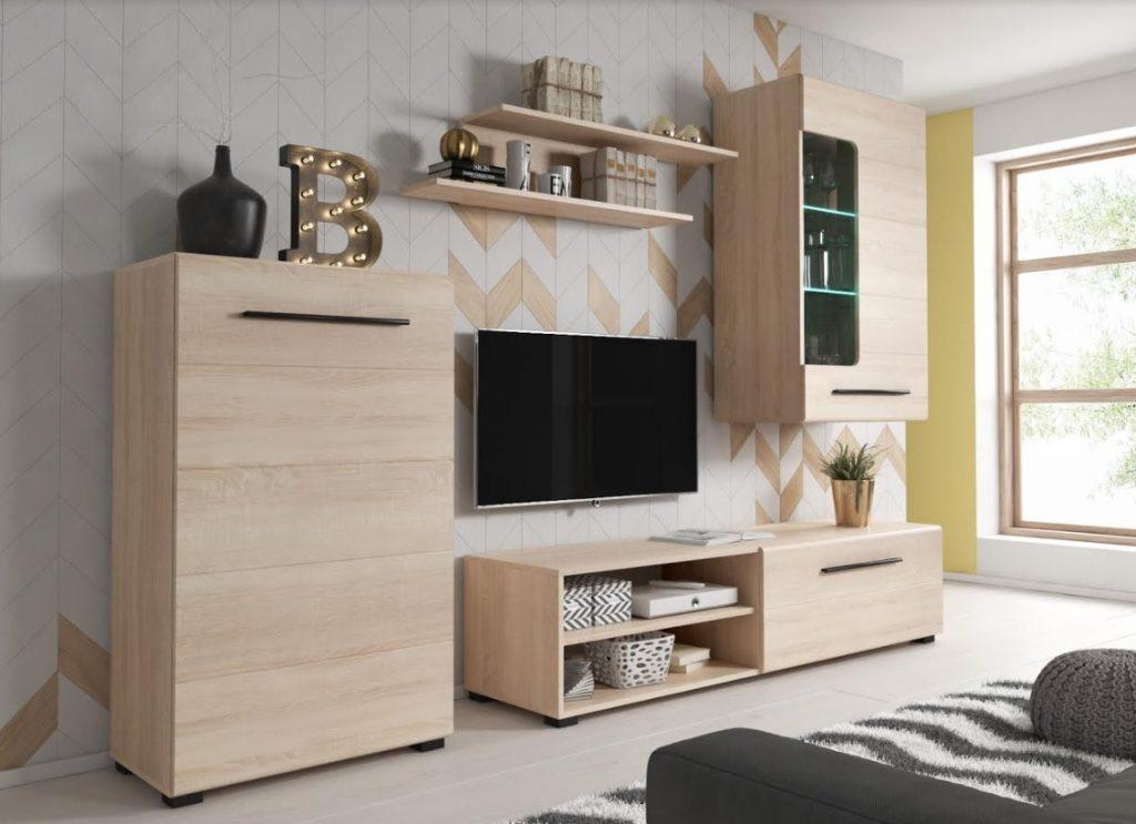 Moderní obývací stěna Belima