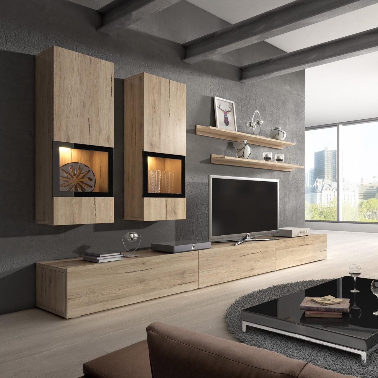 Luxusní obývací stěna Borgo