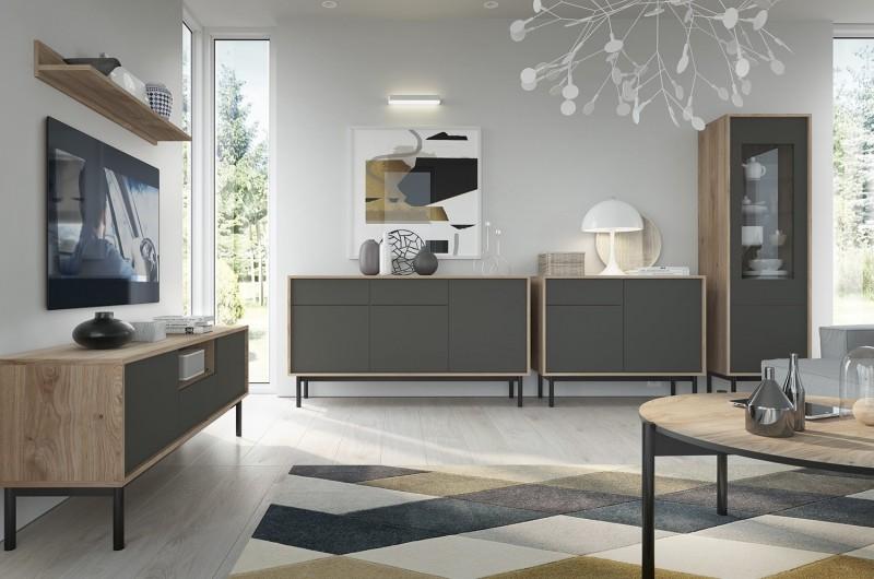 Luxusní bytový nábytek Bruno sestava A - Inspirace a fotogalerie