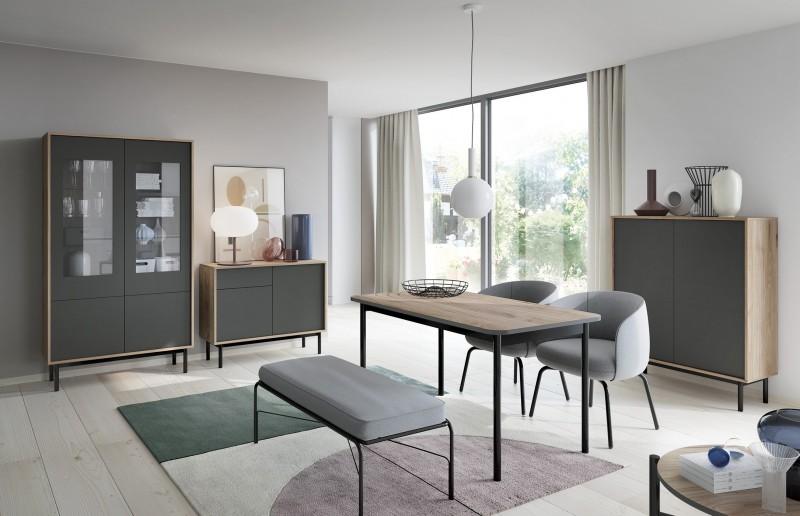 Luxusní bytový nábytek Bruno sestava B - Inspirace a fotogalerie
