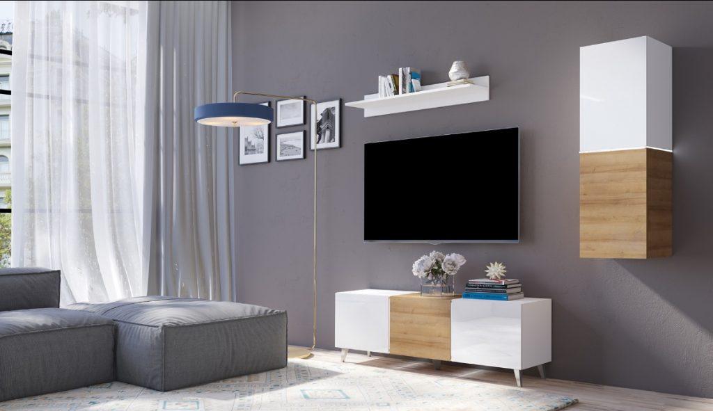 Moderní bytový nábytek Desmo sestava D - Inspirace a fotogalerie
