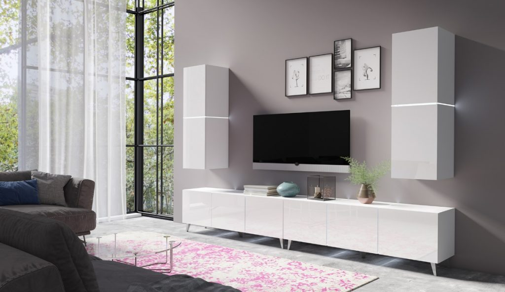 Moderní bytový nábytek Desmo sestava E - Inspirace a fotogalerie