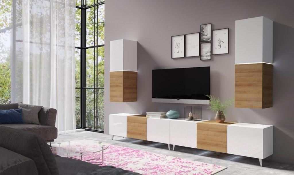 Moderní bytový nábytek Desmo sestava F - Inspirace a fotogalerie