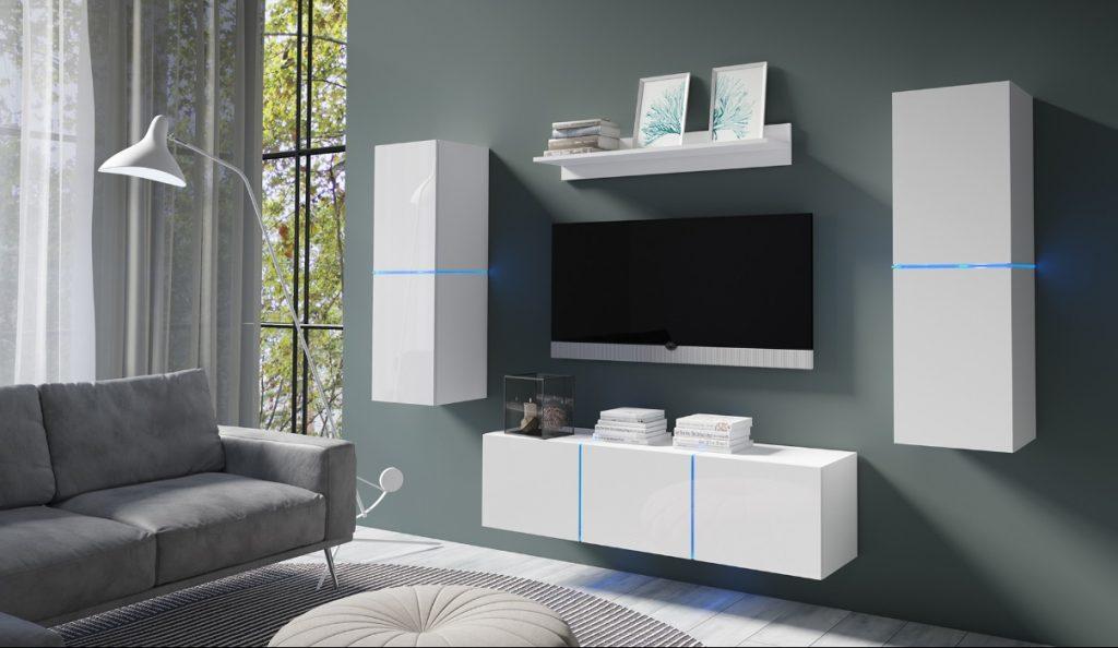 Moderní bytový nábytek Desmo sestava B - Inspirace a fotogalerie