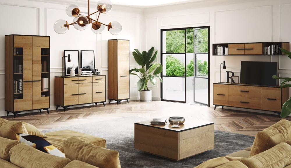 Luxusní bytový nábytek Fredie sestava A - Inspirace a fotogalerie
