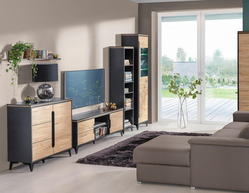 Moderní bytový nábytek Gaston sestava A