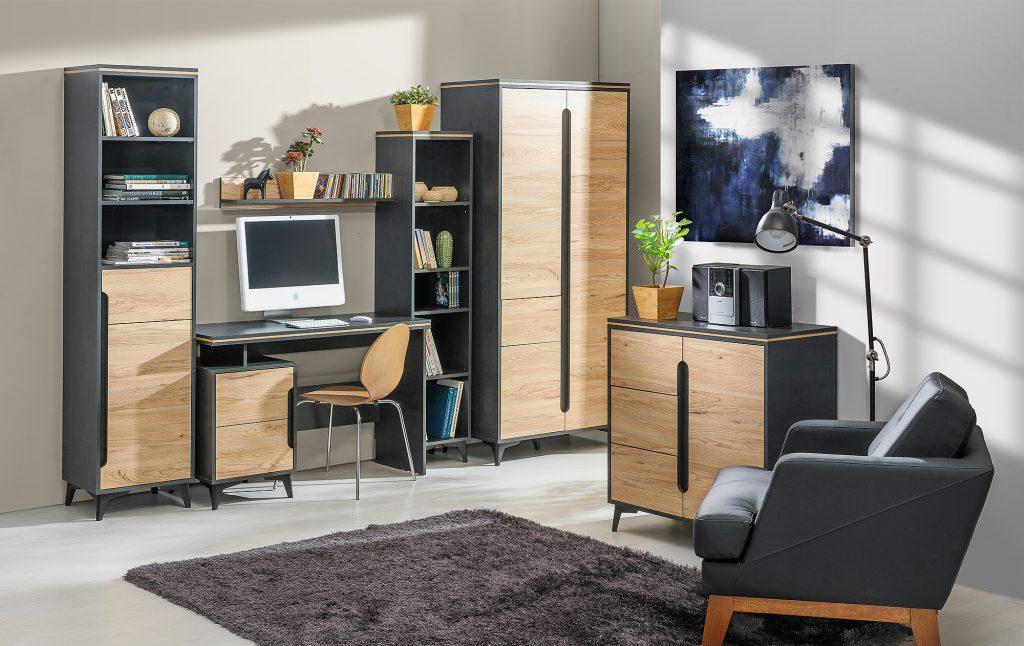 Moderní studentský nábytek Gaston sestava D