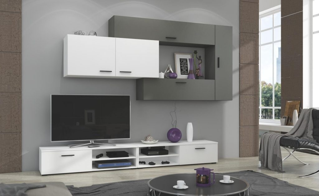 Moderní obývací stěna Java