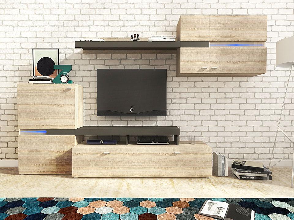 Moderní obývací stěna Jeta