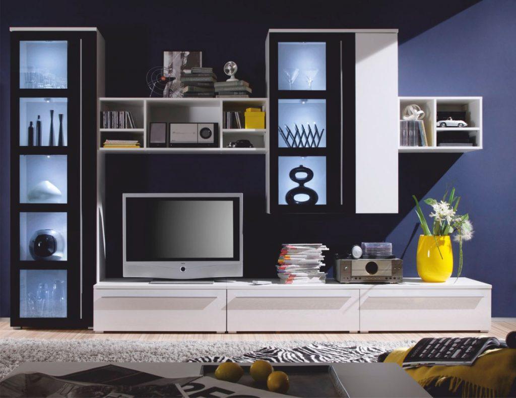 Kasvo MAGIC obývací stěna - inspirace a fotogalerie stěn v obývacím pokoji