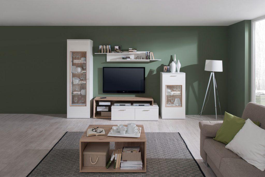 Kasvo VIKI (VITA) obývací stěna - inspirace a fotogalerie stěn v obývacím pokoji