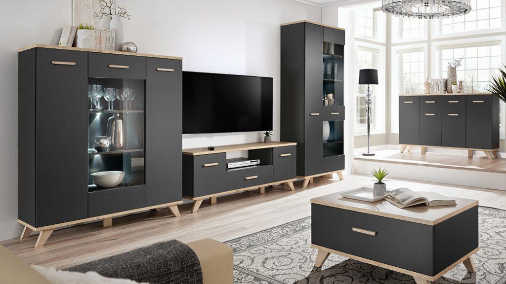 Moderní bytový nábytek Legio sestava A - Inspirace a fotogalerie