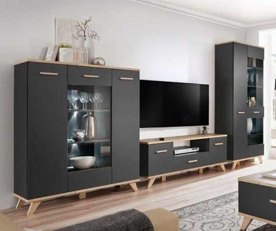 Moderní bytový nábytek Legio sestava B - Inspirace a fotogalerie