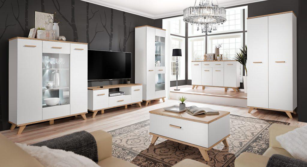 Moderní bytový nábytek Legio sestava C - Inspirace a fotogalerie