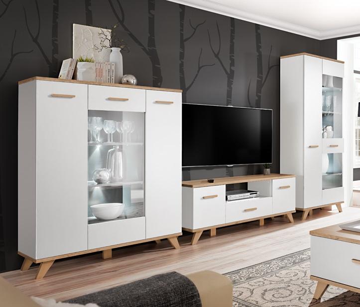 Moderní bytový nábytek Legio sestava D - Inspirace a fotogalerie