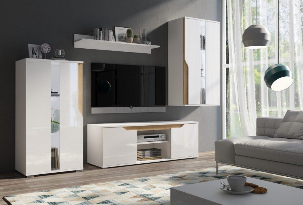 Moderní bytový nábytek Locco sestava A - Inspirace a fotogalerie