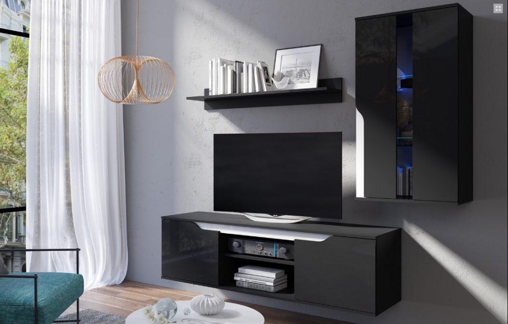 Moderní bytový nábytek Locco sestava B - Inspirace a fotogalerie