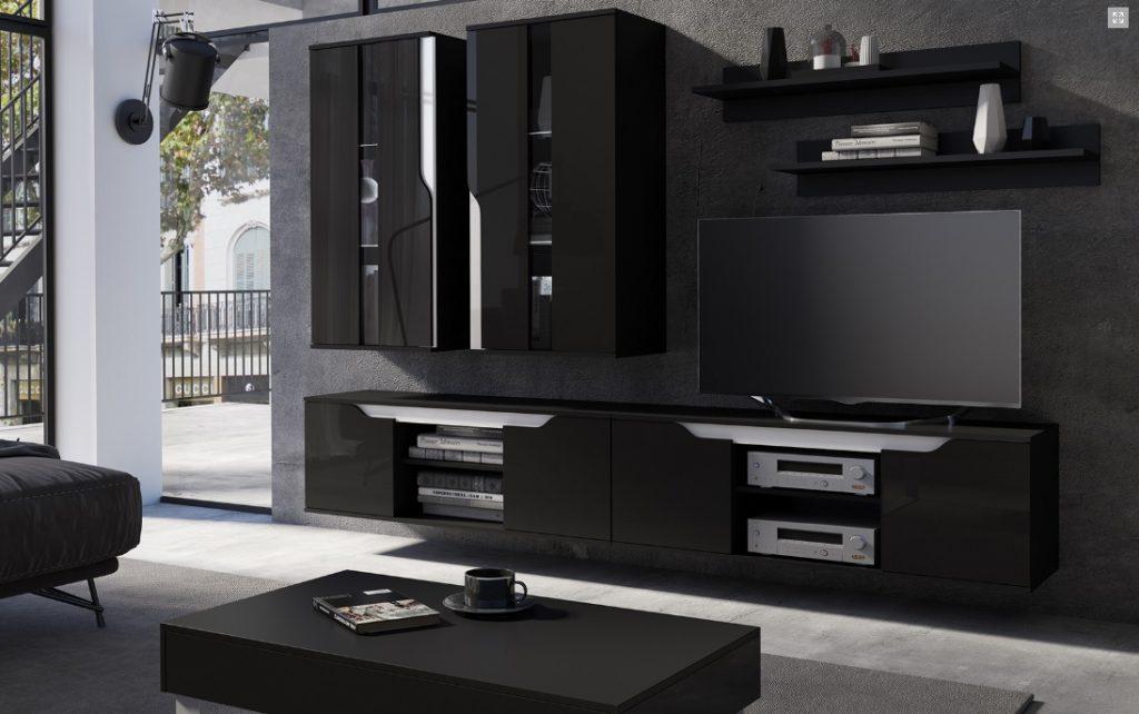 Moderní bytový nábytek Locco sestava D - Inspirace a fotogalerie