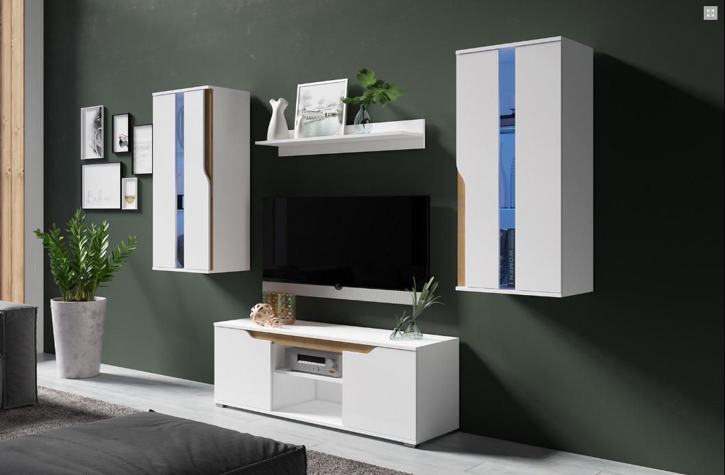 Moderní bytový nábytek Locco sestava F - Inspirace a fotogalerie