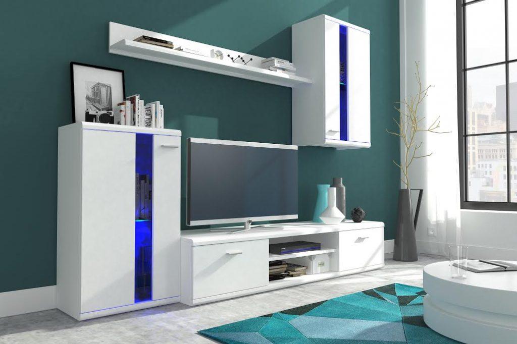 Moderní obývací stěna Lumen