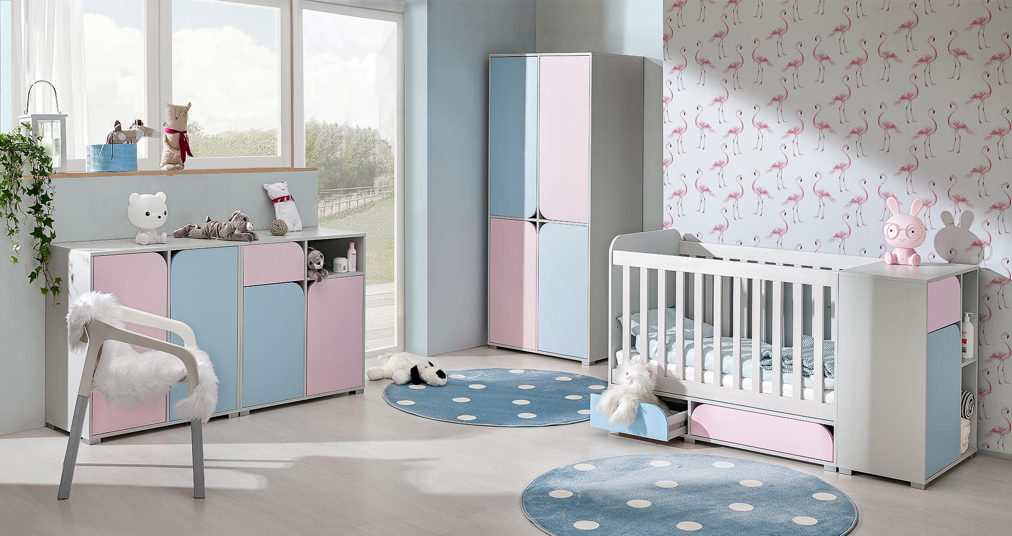 Dětský pokojíček Minimo sestava B - Inspirace a fotogalerie