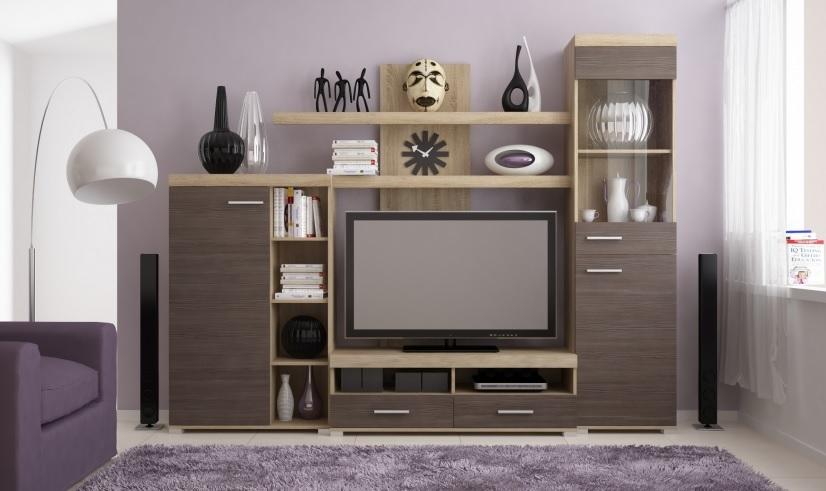 Moderní obývací stěna Mistro - Inspirace a fotogalerie