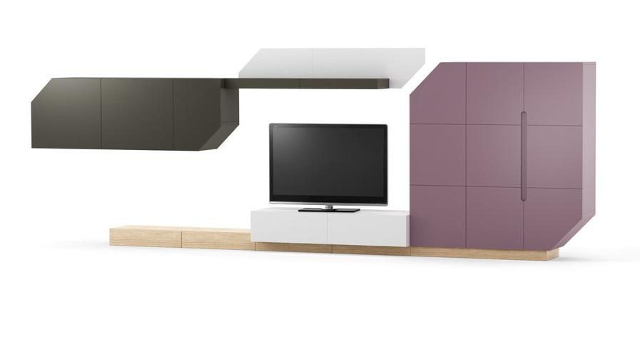 Exkluzivní bytový nábytek Norok sestava C - Inspirace a fotogalerie