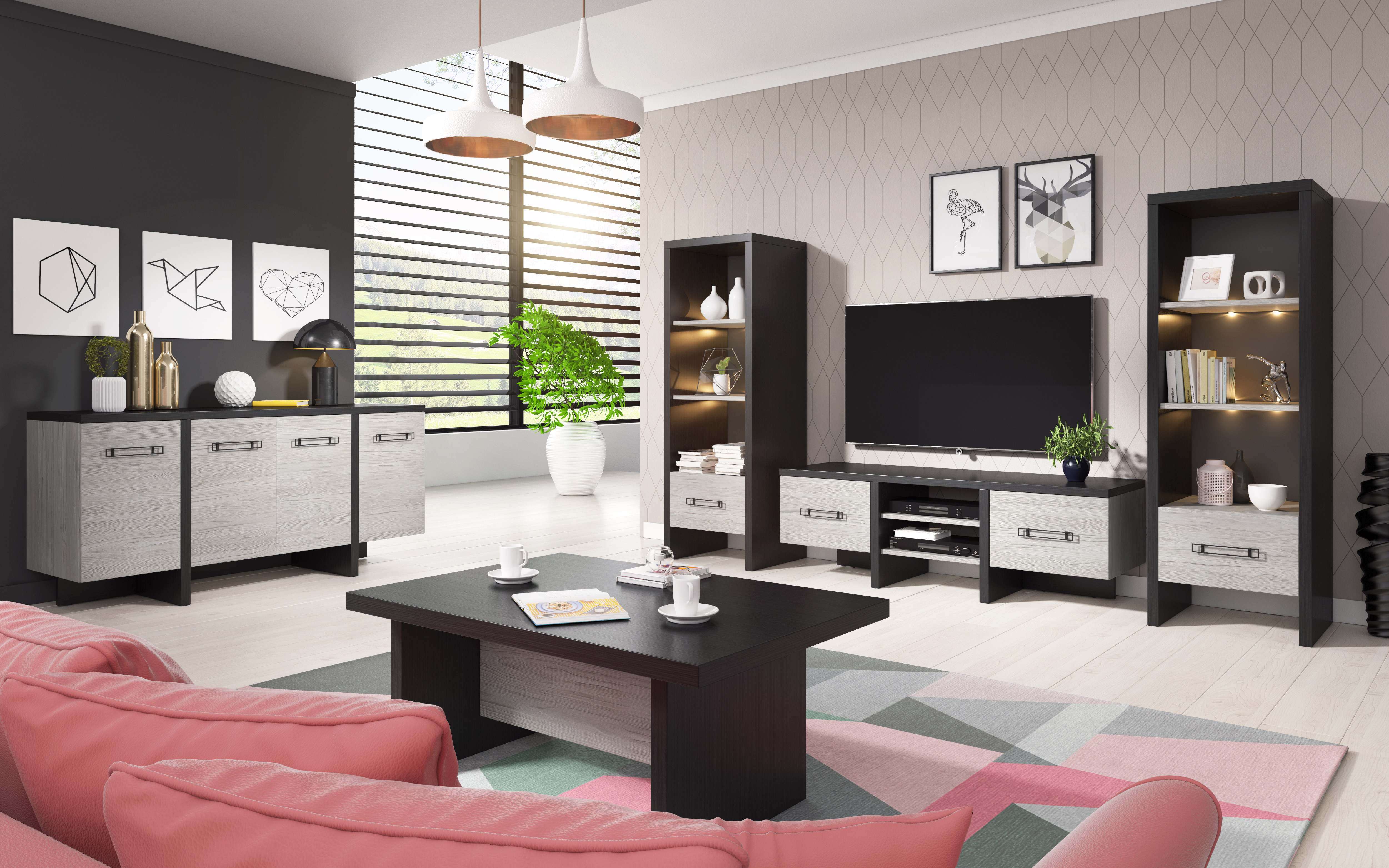 Luxusní obývací pokoj Olsen - Inspirace a fotogalerie