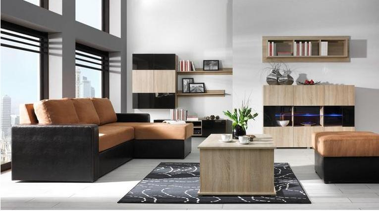 Moderní obývací systém Ordia C - Inspirace a fotogalerie