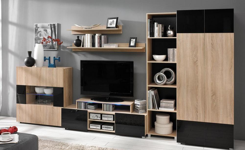 Moderní obývací systém Ordia J - Inspirace a fotogalerie