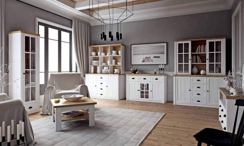 Stylový obývací pokoj Provensálsko - Inspirace a fotogalerie