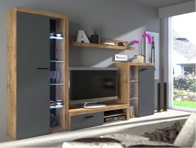 Moderní obývací stěna Rask