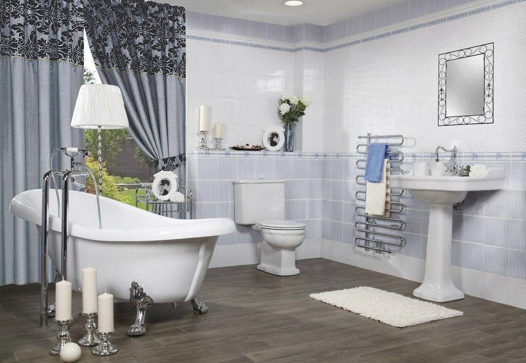 Romantická koupelna - inspirace a fotogalerie