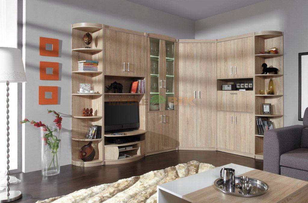 Obývací stě›na Savona systém B : Dub trufla - Inspirace a fotogalerie