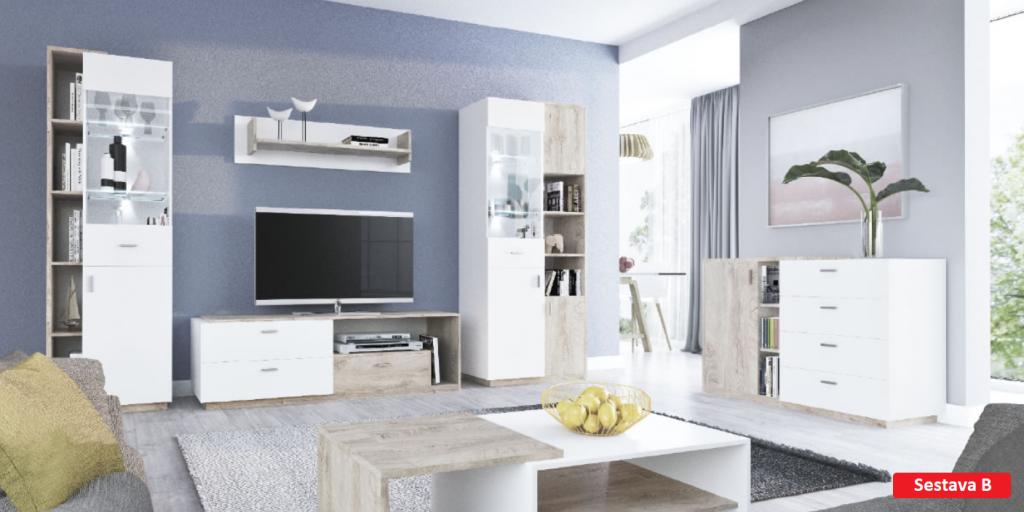 Obývací stě›na Etana B - Inspirace a fotogalerie