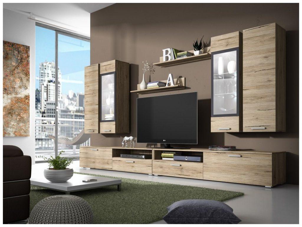Moderní obývací stěna Sierra